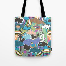 Love Robot Tote Bag