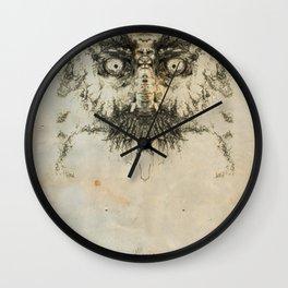 Skulloid I Wall Clock