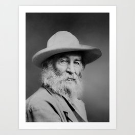 Walt Whitman Portrait Art Print