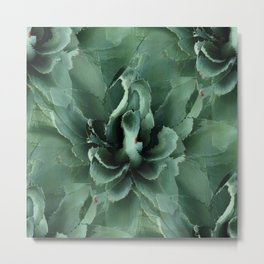 Agave Repeat Play Metal Print