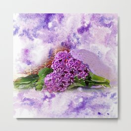 Lilac Time Metal Print