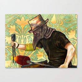 Plague Gaffer Canvas Print