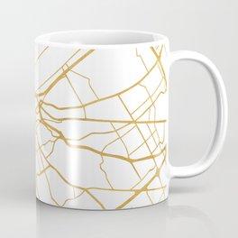 LOUISVILLE KENTUCKY CITY STREET MAP ART Coffee Mug