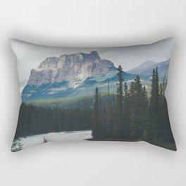 Above the Tree Line Rectangular Pillow