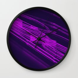 The Love Series 200 Purple Wall Clock