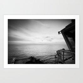 On Board Art Print