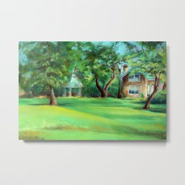The Old Carriage House Metal Print