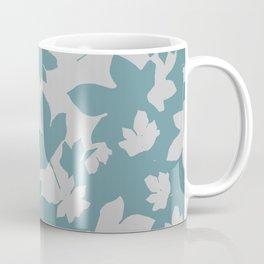 Grey leaves decor envelop.  Coffee Mug