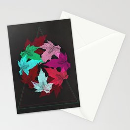 Leaves & Colors Stationery Cards