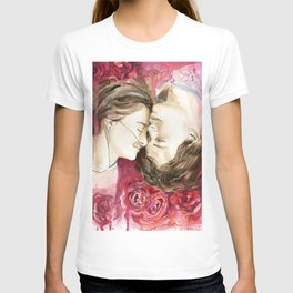 """Augustus Waters & Hazel Grace """"The Fault in Our Stars""""  T-shirt"""