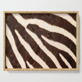 Zebra #decor #society6 #buyart Serving Tray