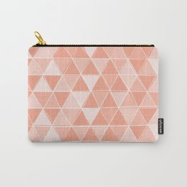 Coral Triangles Carry-All Pouch