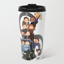 Puppy Pile Travel Mug