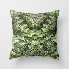 The Witch Of The Woods Throw Pillow
