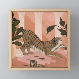Easy Tiger Framed Mini Art Print