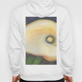 Above a Yellow Calla MM160404a-12 Hoody