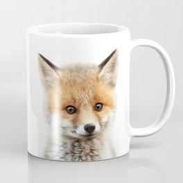 Baby Fox, Baby Animals Art Print By Synplus Coffee Mug