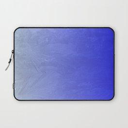 Blue Ice Glow Laptop Sleeve