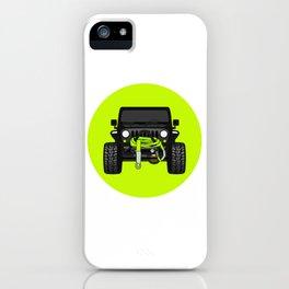 [JEEP] 'Kittykatjk'Hyper Green iPhone Case