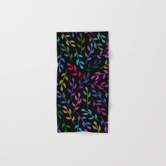 Colorful Leaves V Hand & Bath Towel