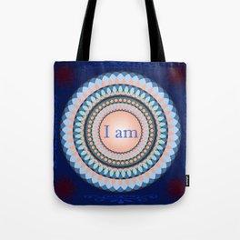 """I am"" Mandala - colorful Tote Bag"