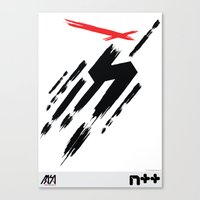 ninja Canvas Prints featuring Ninja by Metanet Software