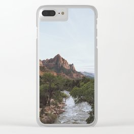 The Watchman - Zion Clear iPhone Case