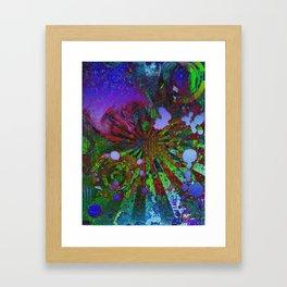 Colorfully Demented Framed Art Print