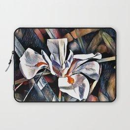 White Iris Laptop Sleeve