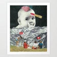 Gender Baby Art Print
