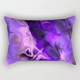 The Love For Violet Purple - Fractal Art Rectangular Pillow
