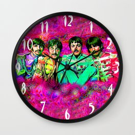 Sgt. Pepper's Lonely Hearts Club Band Wall Clock