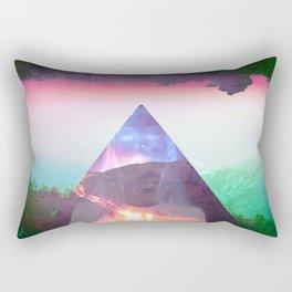 Even the cool erupt  Rectangular Pillow