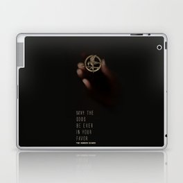 May the odds be ever in your favor Laptop & iPad Skin