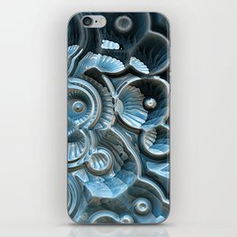 Reflections of A Fractal Fossil iPhone Skin