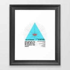 the new illuminatis Framed Art Print