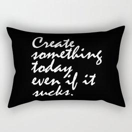 Create Something Today Rectangular Pillow