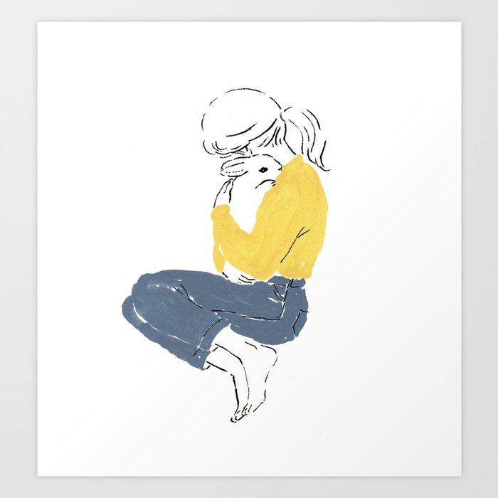 Love and peace Kunstdrucke