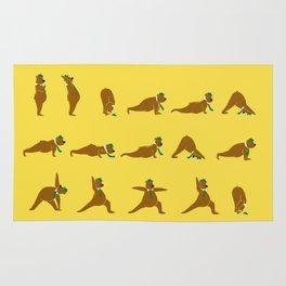 Yoga Bear - Classic Rug
