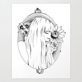 Joni Mitchell Art Print