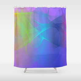 Power and positive energy, 23 Shower Curtain