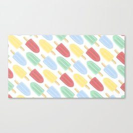 Popsicle Canvas Print