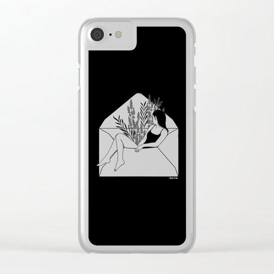 Dear Heartbreaker Clear iPhone Case