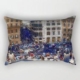 The Spanish Steps 4138 - Rome, Italy Rectangular Pillow