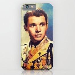 Audie Murphy, Actor an Hero iPhone Case