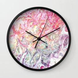Fading Swirl Wall Clock