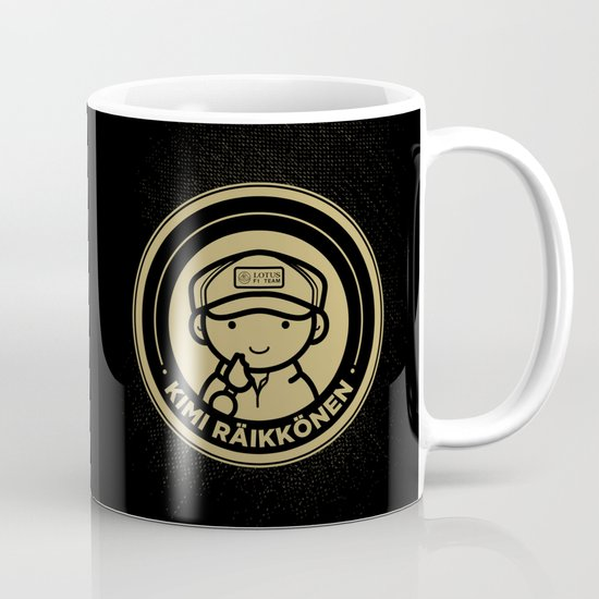 Chibi Kimi Raikkonen - Lotus F1 Team Coffee Mug
