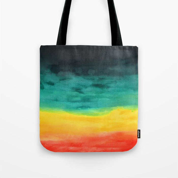 Darkness in the Horizon Tote Bag