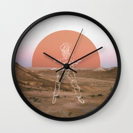 Bang! Bang! Wall Clock