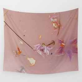 Harry Styles - pink flowers album Wall Tapestry